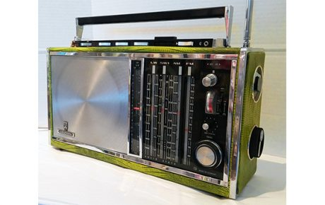 Vintage German Grudig Radio
