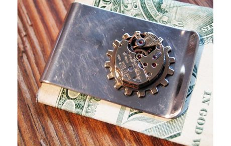 Watchwork Money Clip