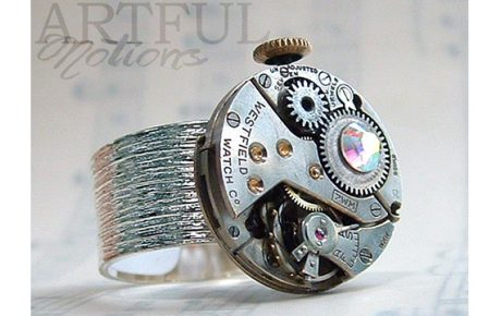 Watchwork Ring